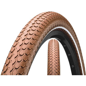 "Continental Ride Cruiser Clincher Tyre 28"" E-25, brown"